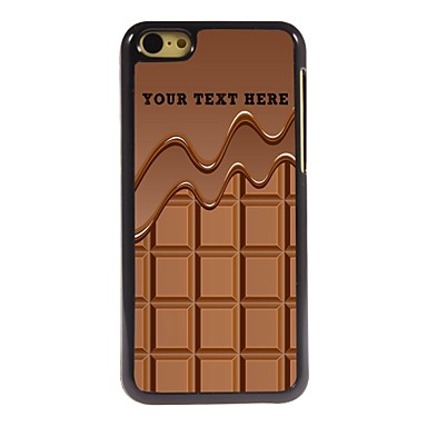 Buy Personalized Phone Case - Chocolate Design Metal iPhone 5C