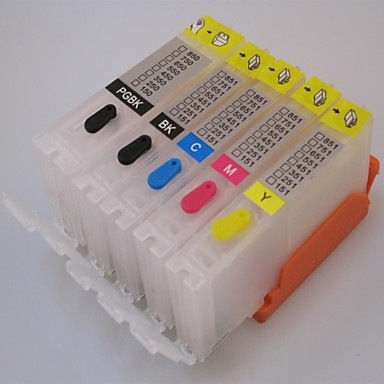 Buy PG-650 CLI651 Refillable Ink Cartridge Canon iP7265MG5460 Printer 5 Color