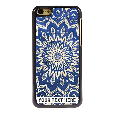 Buy Personalized Phone Case - Blue Lotus Design Metal iPhone 5C