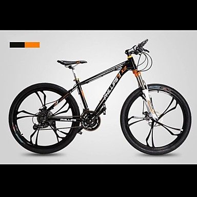 Mountain Bike Cycling 27 Speed 26 Inch/700CC Unisex / Men's / Women's SHIMANO 370 Double Disc Brake Springer Fork Monocoque