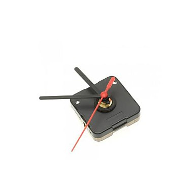 Buy Black Quartz Clock Movement Plastic Hour Minute Hands DIY