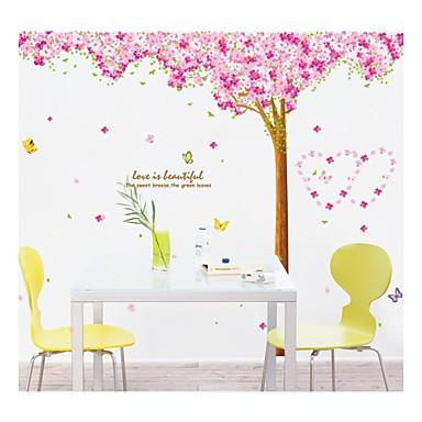 Pared calcoman as pegatinas de pared estilo cerezo pvc - Calcomanias para paredes ...