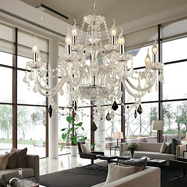 maximum 60 w modern contemporary crystal glass
