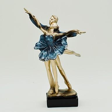 "11.8""H Ballet Lovers Resin Decoration Home Decor"