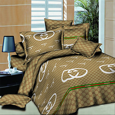 Buy Shuian® Modern Bedding Set Oil Painting Queen Quilt Cover Comforter Sets