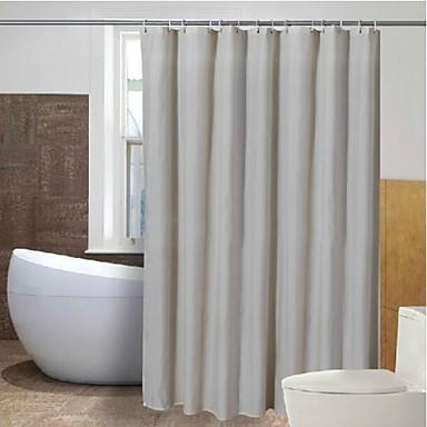 beige pinstripe waterproof shower curtain 2851124 2016
