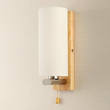 Madera bamb candelabro de pared moderno contempor neo - Candelabros de pared ...