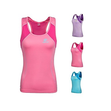 Women's Sleeveless Running Vest/Gilet Tank Tops Breathable Quick Dry Compression Summer Sports WearYoga Camping / Hiking Exercise &