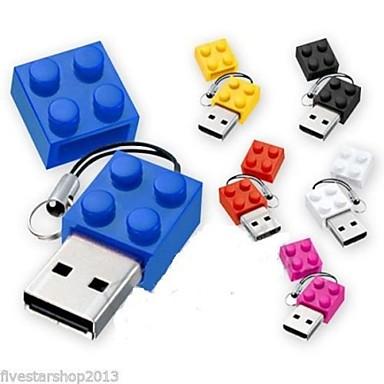 Buy 4GB Toy Bricks Cartoon USB 2.0 Flash Pen Drive