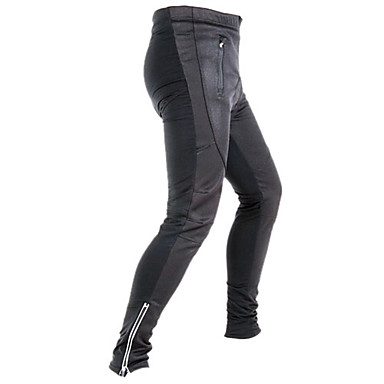 Jaggad Cycling Pants Men's Bike Breathable Thermal / Warm Quick Dry Reflective Strips 3D Pad Tights Pants/Trousers/Overtrousers Bottoms
