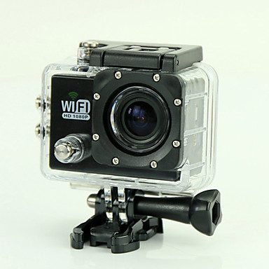 EST SJ6000 Sports Action Camera 12MP 1920 x 1080 WiFi / Waterproof / Anti-Shock / Smile Detection 4x 2 CMOS 32 GB H.264 50 MDiving &