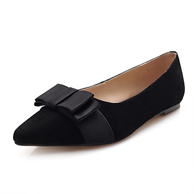s shoes leather flat heel pointed toe flats dress