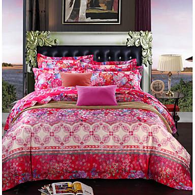 antibact rien coton respirant fibre de bambou tissu literie quatre pi ces de 2015. Black Bedroom Furniture Sets. Home Design Ideas
