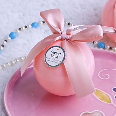 bo tes cadeaux rose plastique mariage f te pr nuptiale f te de naissance bonbon seize. Black Bedroom Furniture Sets. Home Design Ideas