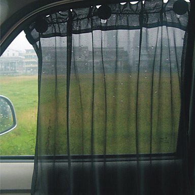 car sun shade curtain suction cup uv protection side window curtain side curtain 2 pcs 2016. Black Bedroom Furniture Sets. Home Design Ideas