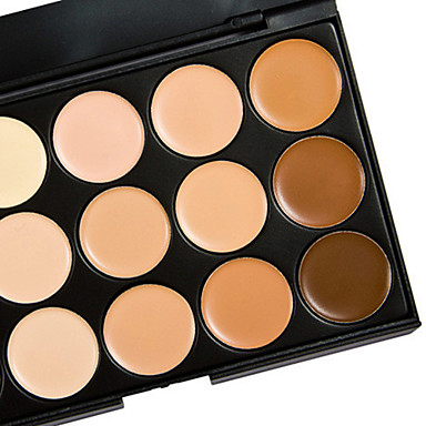 15 Concealer/Contour Wet / Matte / Shimmer CreamSun Protection / Coverage / Whitening / Oil-control / Long Lasting / Concealer / Uneven
