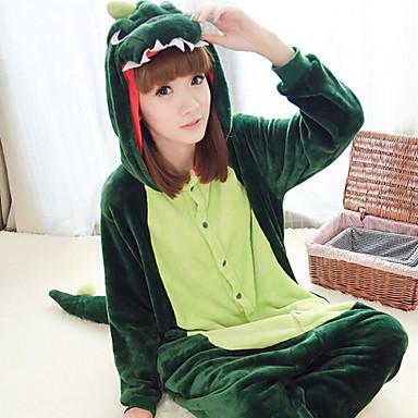 kigurumi pyjamas dinosaure collant combinaison f te c l bration pyjamas animale halloween vert. Black Bedroom Furniture Sets. Home Design Ideas