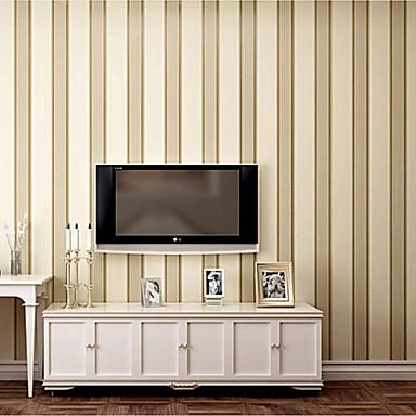 Papel tapiz contempor neo raya sencillo europa dise a caf - Papel tapiz para pared ...