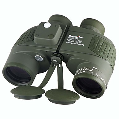 Buy Boshile 10X50 mm Binoculars Waterproof Roof Prism Night Vision BAK4 Fully Multi-coated 132m/1000m Central Focusing