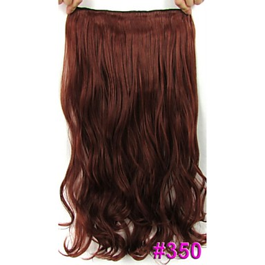 24 60cm 120g body wave hair piece no shiny hot