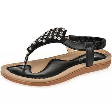 s shoes flat heel toe ring sandals dress black blue