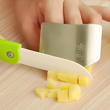 Buy Stainless Steel Finger Guard Kitchen Hand Protector 6.5x4.5x2cm