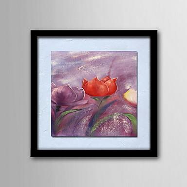 Pitture a olio un pannello moderni fiori astratti tele for Tele astratte dipinte a mano