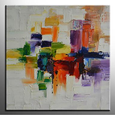 peinture l 39 huile abstraite mur de toile peinte la main l 39 art abstrait un panneau pr t. Black Bedroom Furniture Sets. Home Design Ideas