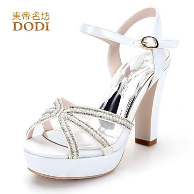 Zapatos de mujer cuero sint tico tac n stiletto tacones for Zapatos para boda en jardin