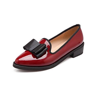 chaussures femme d contract noir blanc bordeaux talon bas bout pointu mocassins. Black Bedroom Furniture Sets. Home Design Ideas