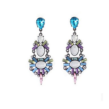 """New Arrival Hot Selling High Quality Retro Geometric Crystal Earrings&q..."