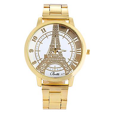 watches gold fashion alloy eiffel tower