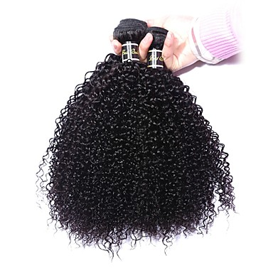 Buy Malaysian Virgin Hair 100% Remy Kinky Wave 8 inch-30 inchHuman Extensions Natural Color