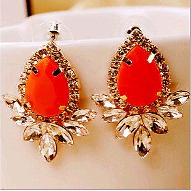 """""""New Arrival Hot Selling High Quality Crystal Gem Earrings"""""""