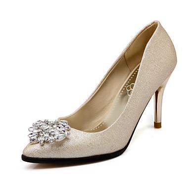 Zapatos de mujer tac n stiletto tacones puntiagudos for Zapatos para boda en jardin