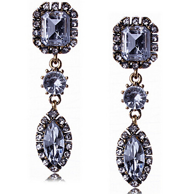 """New Arrival Hot Selling High Quality Retro Popular Crystal Earrings"""