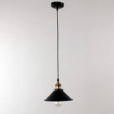 Buy Max 60W Traditional/Classic / Retro Bowl Mini Style Bulb Included Painting Pendant LightsLiving Room Bedroom Dining