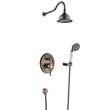 Grifo de ducha antiguo ducha lluvia alcachofa - Grifos de laton ...