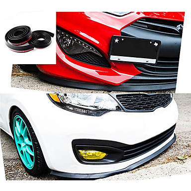 Newest 2 5m Roll Car Styling Multi Deflector Universal Front Lip Bumper Spoiler Exterior Auto