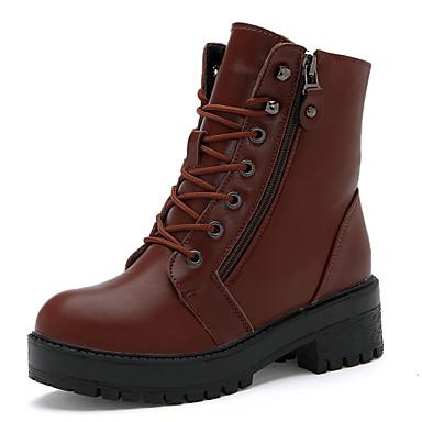 Zapatos de mujer tac n plano botas de equitaci n - Botas de trabajo ...