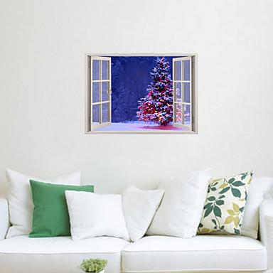 Bot nico navidad romance naturaleza muerta pegatinas - Adhesivos pared 3d ...