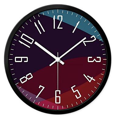 Redondo moderno contempor neo campestre casual - Reloj de pared moderno ...
