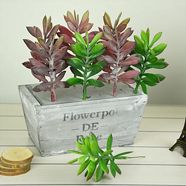 Fake green plants green interior decoration plastic plants for Artificial plants for interior decoration