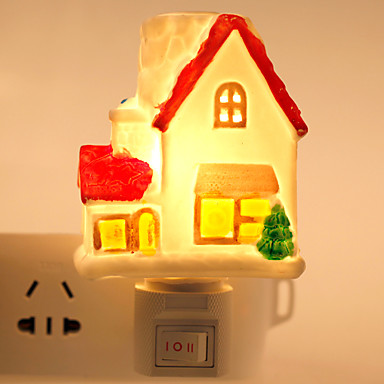 Creatief ontwerp huis vormige keramische lamp nachtlampje bedlampje geur 4690477 2016 - Huis lamp wereld nachtkastje ...