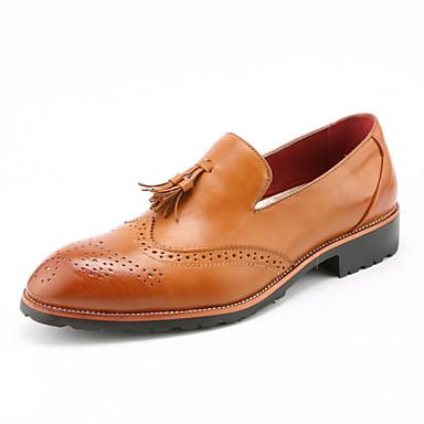 Zapatos de hombre oxfords oficina y trabajo casual - Zapatillas de trabajo ...