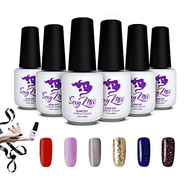 Buy Sexy Mix 7ml Gel Polish Nail Varnish Art Color Set