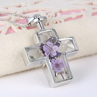 Buy Z&X® Fashion Popular Vintage Flowers Necklace Pendant Necklaces / Party Alloy Daily 1pc