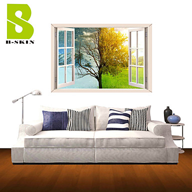 Buy 3D Wall Stickers Decals, Nature Landscape Decor Vinyl