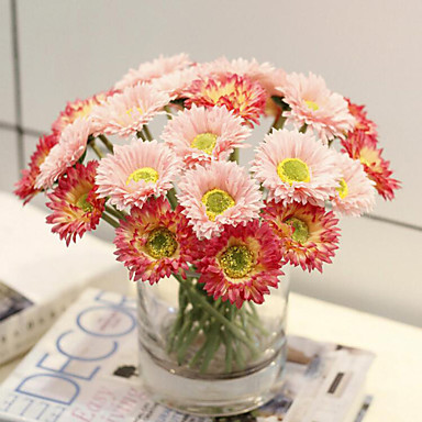 Buy Generic 1x Artificial Gerbera Daisy Flowers Heads DIY Wedding Party Home Decoration