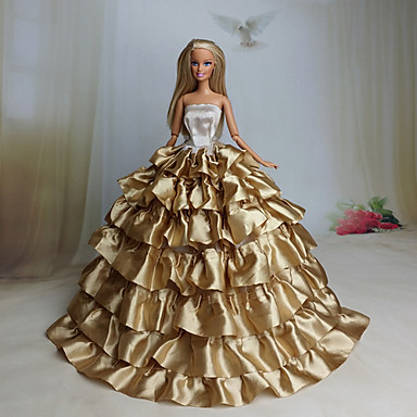 party evening dresses for barbie doll coffee dresses for girl 39 s doll toy 4740680 2016. Black Bedroom Furniture Sets. Home Design Ideas